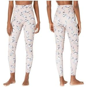 Beyond Yoga Olympus Floral Blush Midi Leggings